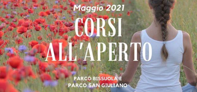 CORSI ALL' APERTO – MAGGIO 2021